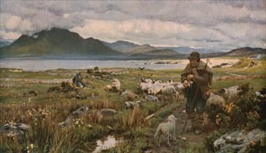 'The Orphan', 1888, (c1930).  Creator: Sir Ernest Albert Waterlow.