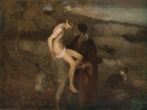 'The Good Samaritan', c1890, (c1930).  Creator: Edward Stott.