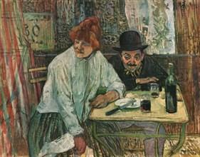 'At the Café La Mie', c1891, (1952).  Creator: Henri de Toulouse-Lautrec.