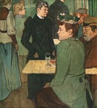 'A Corner of the Moulin de la Galette', 1892, (1952).  Creator: Henri de Toulouse-Lautrec.