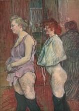 'Rue des Moulins', 1894, (1952).  Creator: Henri de Toulouse-Lautrec.