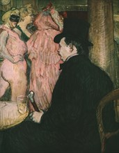 'Maxime Dethomas', 1896, (1952). Creator: Henri de Toulouse-Lautrec.