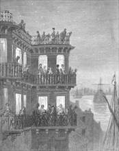 'Greenwich - In the Season', 1872. Creator: Gustave Doré.