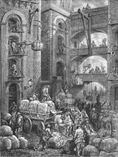 'Pickle Herring Street', 1872.  Creator: Gustave Doré.