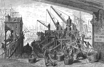 'Limehouse Dock', 1872.  Creator: Gustave Doré.
