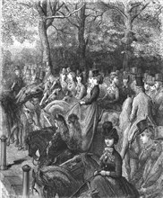 'Hyde Park Corner-The Row', 1872.  Creator: Gustave Doré.