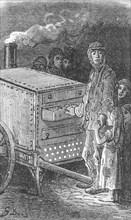 'Baked Potatoe Man', 1872.  Creator: Gustave Doré.