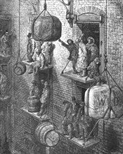 'Warehousing in the City', 1872.  Creator: Gustave Doré.