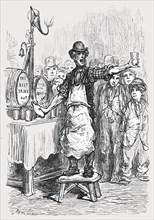 'The Ginger Beer Man', 1872.  Creator: Gustave Doré.