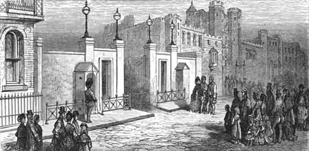 'Marlborough House - Expecting the Prince', 1872.  Creator: Gustave Doré.