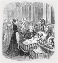 'Infant Hospital Patients', 1872.  Creator: Gustave Doré.