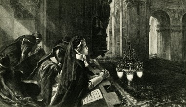 Memorial service for Edith Cavell, St. Paul's Cathedral, London, 29 October 1915, (c1920). Creator: Unknown.