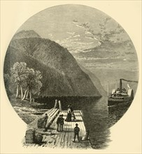 'Owl's Head Landing', 1874.  Creators: John Douglas Woodward, Frederick William Quartley.