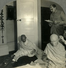'The Indian Leader, the Mahatma Gandhi', c1930s. Creator: Unknown.