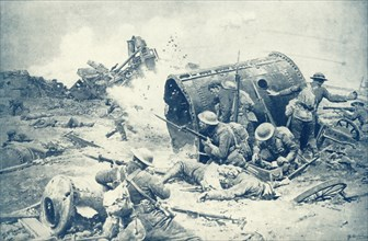 'Canada's Great Day at Courcelette', 1917. Creator: Unknown.