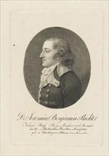 Jeremias Benjamin Richter (1762-1807), c. 1800. Creator: Anonymous.