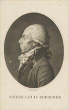Portrait of Pierre-Louis Roederer (1754-1835). Creator: Fiessinger (Fiesinger), Franz Gabriel (1723-1807).