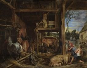 The prodigal son, 1618. Creator: Rubens, Pieter Paul (1577-1640).