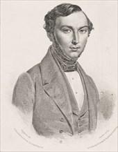 Portrait of Jean Giraudeau (1801-1861) , 1839-1840. Creator: Leroux, Jean-Marie (1788-1870).