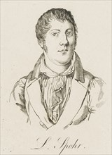 Portrait of Louis Spohr (1784-1859), c. 1830. Creator: Anonymous.
