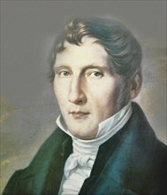 Portrait of Louis Spohr (1784-1859). Creator: Anonymous.