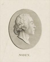 Friedrich Julius Heinrich Graf von Soden auf Sassanfahrt (1754-1831) , 1800. Creator: Küffner, Abraham Wolfgang (1760-1817).