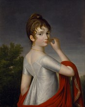 Self-Portrait, c. 1810. Creator: Dolgorukova (Saltykova), Yekaterina Vasilyevna (1791-1863).