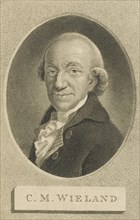 Portrait of the Poet and writer Christoph Martin Wieland (1733-1813), 1800. Creator: Nutter, William (1754-1802).