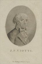 Portrait of the composer Giovanni Battista Viotti (1755-1824), c. 1800. Creator: Arndt, Wilhelm (1750-1813).