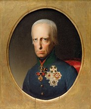 Portrait of Holy Roman Emperor Francis II (1768-1835), c. 1830. Creator: Anonymous.