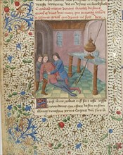 Compilation arthurienne de Micheau Gonnot, 1470. Creator: D'Espinques, Évrard (active 1440-1494).