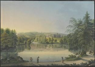 The Wilhelmshöhe Castle near Kassel, ca 1820. Creator: Bleuler, Johann Heinrich (1758-1823).