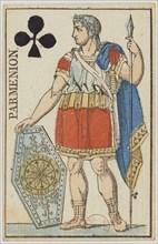 Parmenion. From: Cartes de tête d'un jeu au portrait de l'Empire, 1811. Creator: Gatteaux, Nicolas-Marie (1751-1832).