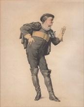 "Crispin in ""Les Folies amoureuses"" by Jean-François Regnard. Creator: Geffroy, Edmond Aimé Florentin (1804-1895)."