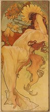 Summer (From the Series Les Saisons), c. 1900. Creator: Mucha, Alfons Marie (1860-1939).