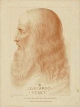 Leonardo da Vinci, 1795. Creator: Bartolozzi, Francesco (1728-1813).