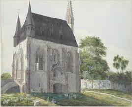 The Totenkapelle in Kiedrich, ca 1814. Creator: Fohr, Carl Philipp (1795-1818).