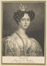 Amélie of Leuchtenberg (1812-1873), Empress of Brazil, 1830. Creator: Fleischmann, Friedrich (1791-1834).