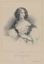 Louise de La Baume Le Blanc, Duchess of La Vallière (1644-1710), ca 1820. Creator: Anonymous.