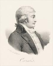 Jacques Antoine Marie de Cazalès (1758-1805), ca 1820. Creator: Delpech, François Séraphin (1778-1825).