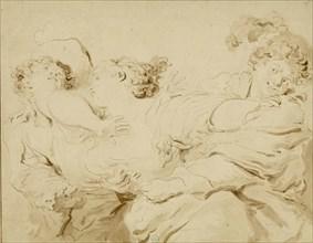 La Gifle , 1785. Creator: Fragonard, Jean Honoré (1732-1806).