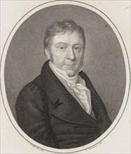 Portrait of Johann Nepomuk Hummel (1778-1837). Creator: Fleischmann, Friedrich (1791-1834).