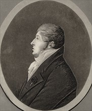 Portrait of the Composer Nicolò Isouard (1775-1818). Creator: Anonymous.