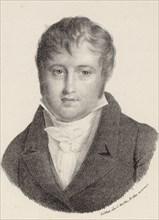 Portrait of the Composer Nicolò Isouard (1775-1818). Creator: Motte, Charles Etienne Pierre (1785-1836).