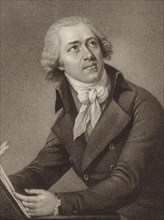 Portrait of the Composer Leopold Kozeluch (1747-1818), 1797. Creator: Ridley, William (1764-1838).