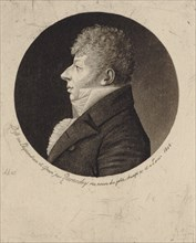 Portrait of the violinist and composer Jean Nicolas Auguste Kreutzer (1778-1832), 1808. Creator: Quenedey, Edmé (1756-1830).