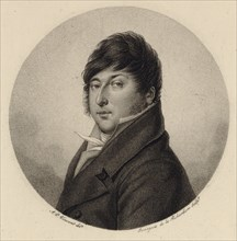 Portrait of the composer Rodolphe Kreutzer (1766-1831). Creator: Bourgeois de la Richardière, Antoine-Achille (1777-1838).
