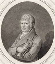Portrait of the violinist and composer Franz Krommer (1759-1831). Creator: Neidl, Johann (1776-1832).