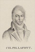 Portrait of the violinist and composer Charles Philippe Lafont (1781-1839). Creator: Ledru, Hilaire (1769-1840).