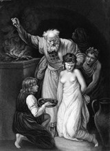 'Who did with her according to his vow', early-mid 19th century? Creator: Samuel Freeman.